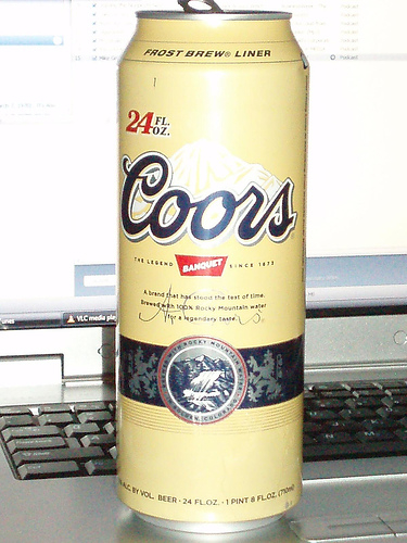 Coors Can by Eddie~S