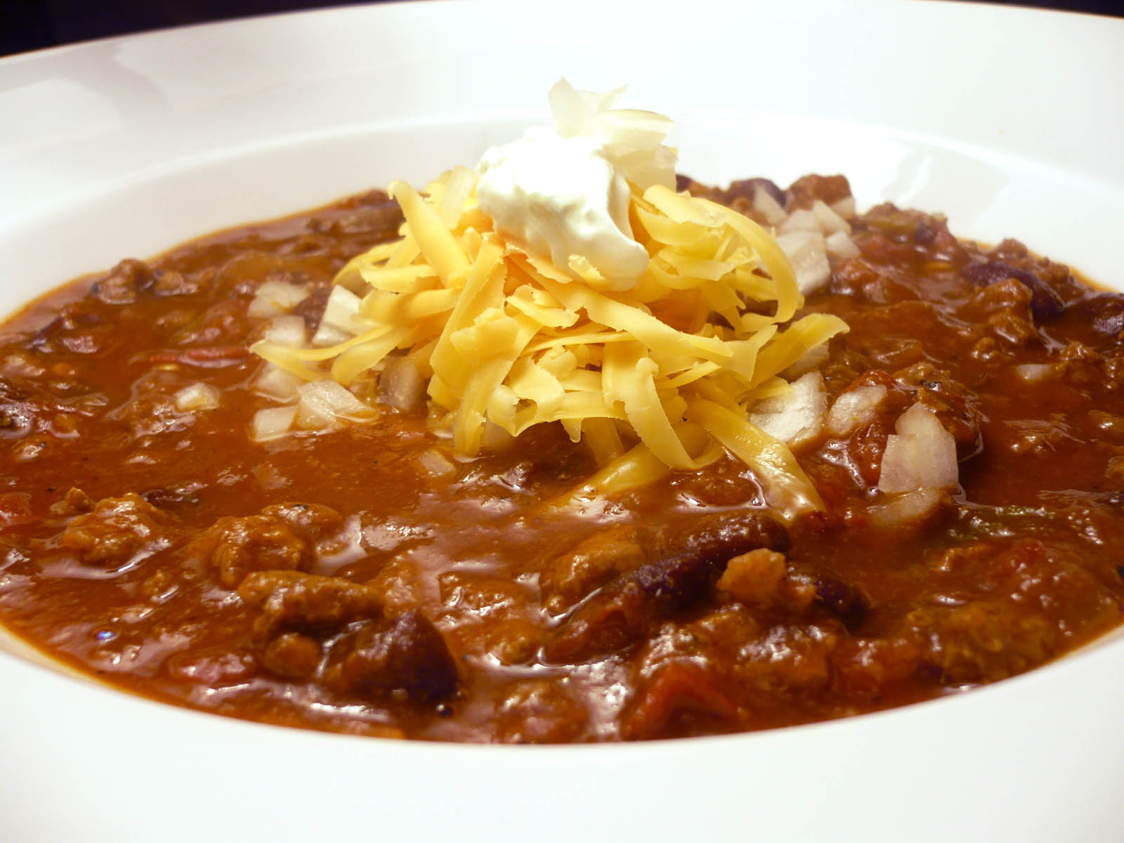 grew up eating chili. Never got to eat any of my grandfather's chili ...