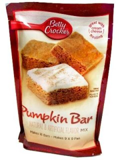 pumpkin bar mix